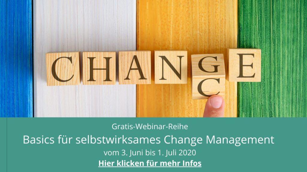 Basics für selbstwirksames Change Managment Hier klicken